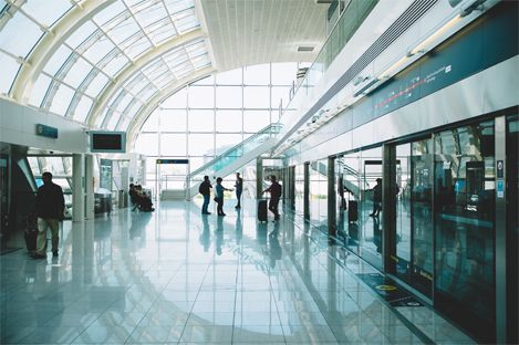 Protection of airports and stations